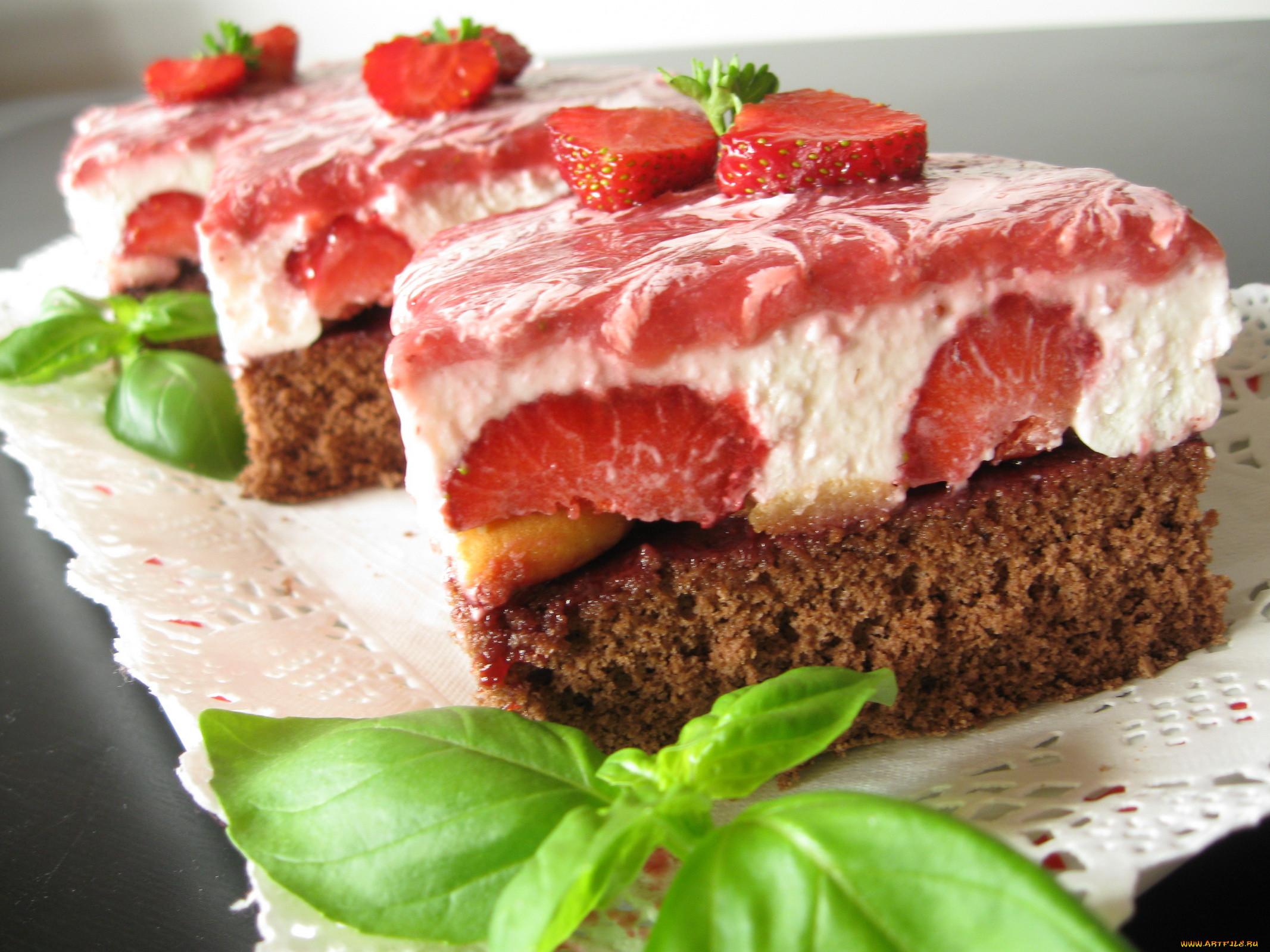 Varvarra еда торты обои для рабочего стола